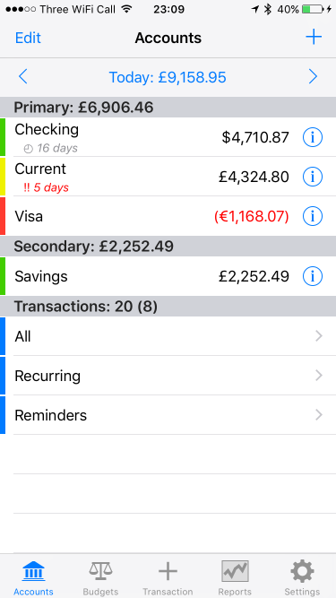 account tracker ios account tracker hill lists meter readings