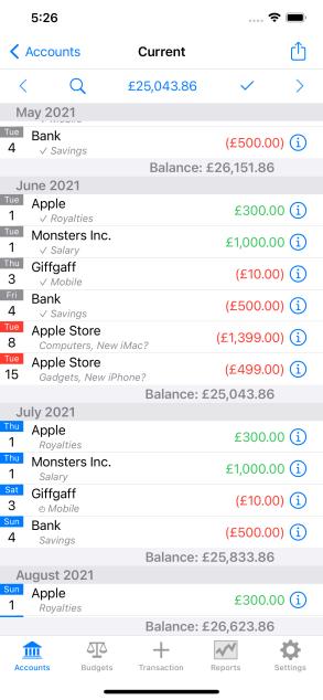 Simulator Screen Shot - iPhone 11 Pro Max - 2021-06-25 at 17.26.59
